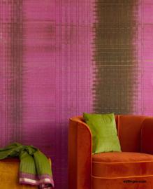 Eijffinger Sundari Wallpower 375202 Paper Weave fuchsia