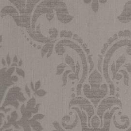 Taupe grijs barok behang 62059