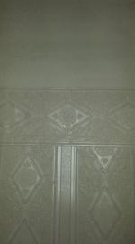 glitter vinyl behang creme wit glim xxt