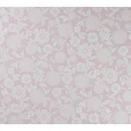 Royal Dutch 3 7271-6 Bloem Roze Wit kant behang