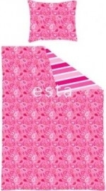 Esta For Kids Jimbo Pink 155810 Dekbedset Junior Paisley Candy Pink