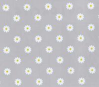 grijs wit bloemen tafelzeil 2137