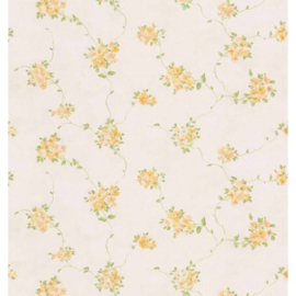 Bloemen behang floral yellow 22170