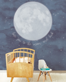 Eijffinger Mini Me Wallpower Over the Moon 399119