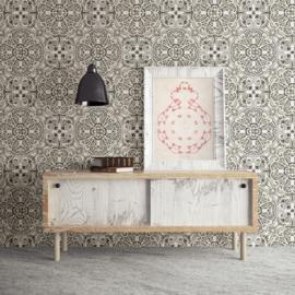 Dutch Restored Florentine Tile behang 24045