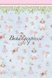 Behangexpresse COLORchoc Wallprint Teaparty INK 6091
