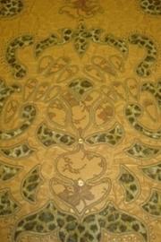goud bruin luipaard dieren print behang 43