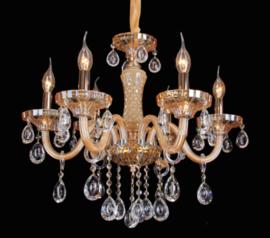 KROONLUCHTER KLASSIEK PENDANT LAMP GOUD 86017-6