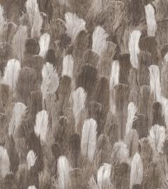 Struisvogelveren Rasch African Queen II behang 473322