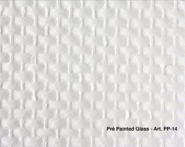 Intervos Wall-Structure PP-14 Glasvlies Pre-Painted grof 50x1M