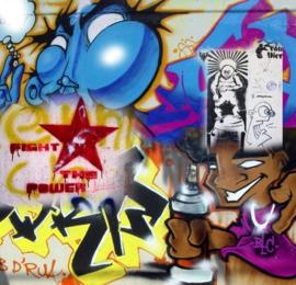 No Limits Fotobehang Graffiti tag 30111