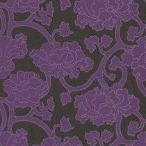 paars bloemen vlies behang 3d 157