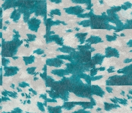 Rasch Popskin behang 498219 Koeienhuid dierenprint