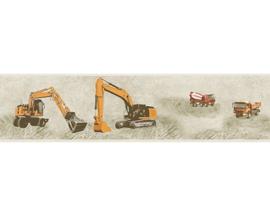 kraanwagens behangrand  35871-2
