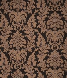barok behang zwart bronz 018