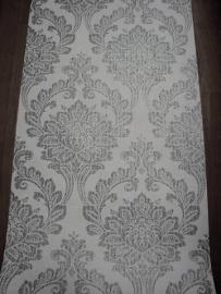 zilver wit barok behang 19