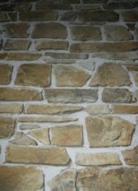 natuur steen vinyl behang grijs bruin 17