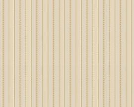 creme goud glim strepen behang 31045-3