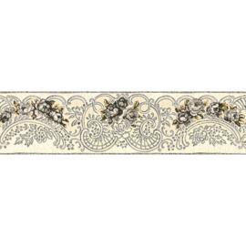 behangrand bloemen 13 cm breed  34074-2