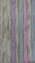 AS Creaton Sloophout behang gekleurd 95883-2