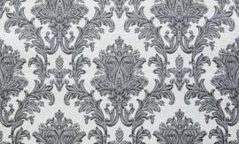 grijs barok behang 15001-14