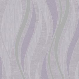 Grandeco Ideco Drift Golfpatroon Glitter Streep reliëf Vinyl Wallpaper behang  A13601