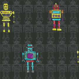 Arthouse Opera Fun behang Retro Robots 534000