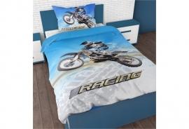 Sleeptime For Kids - DBO Racing Motorbike - Blauw