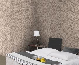 creme luipaardprint dieren print behang 20