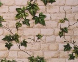 AS Creation Dekora Natur 9804-34 Steen behang klimplanten