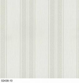 Creme Strepen Behang 02438-10