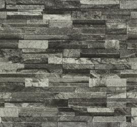Behang steen grijze 42106-20 4210.620 Vintage Vlies behang P + S Origin