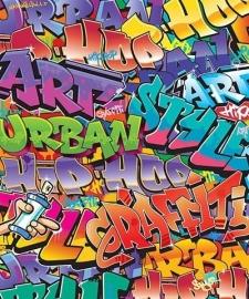 Walltastic 3D Graffiti fotobehang