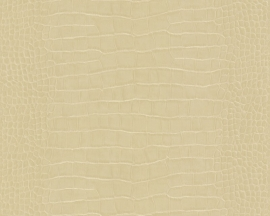 KROKODILLENHUID BEHANG - AS Création Dekora Natur 5 6651-19