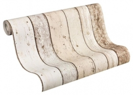 hout sloophout steigerhout as creation behang x1