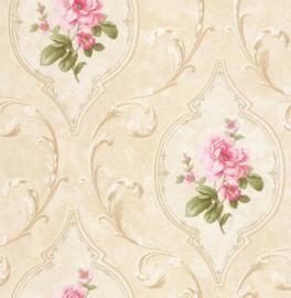 Dutch First Class Tudor Rose behang Madelyn Floral DE41444