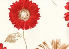 bloemen gerbras damask behang daisy 111502