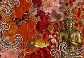 posterbehang 8-890 Vintage Komar Boeddha