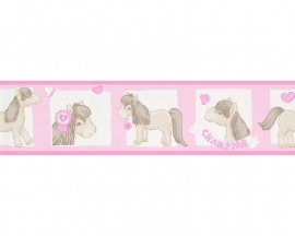 my little pony paarden behangrand 89272-0