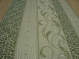 luipaardprint groen dieren print behang 66