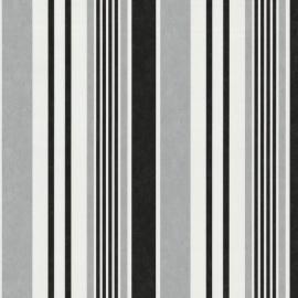 Behang Expresse Jewel zwart wit grijs