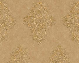 beige bruin barok behang 35110-4