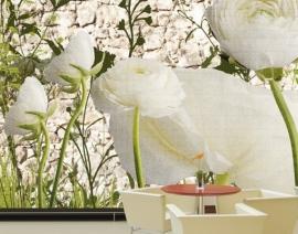 Mantiburi bloemen Fotobehang Flower Wall 29