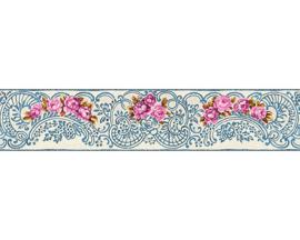 bloemen behangrand 34074-3
