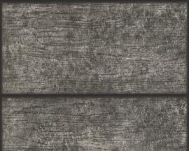 AS Creation Murano 7085-19 Wood grijs zwart behang