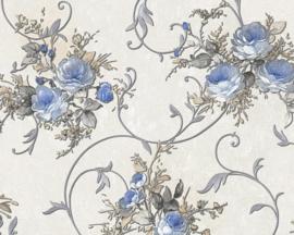 Romantica bloemen behang 30420-1