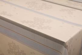 150-165 strepen bloemen tafelzeil