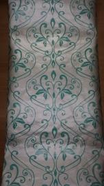 barok behang groen xx4