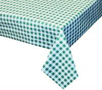 groen wit ruiten tafelzeil geblokt 156704