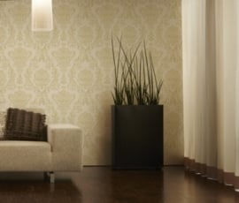 barok behang goud off-white 30190-5